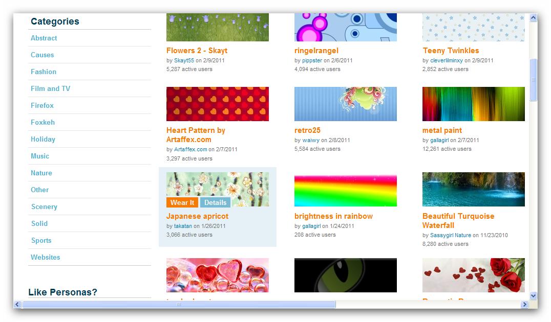 Mengganti Tampilan Mozilla Firefox