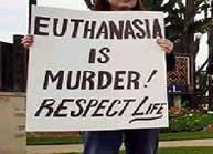 euthanasia, kontra euthanasia, anti euthanasia, tolak suntik mati, suntik mati